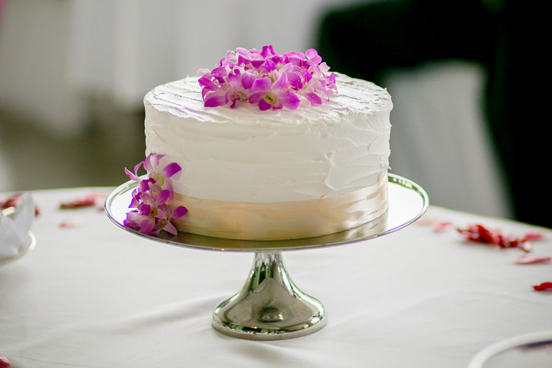 fiji wedding cake