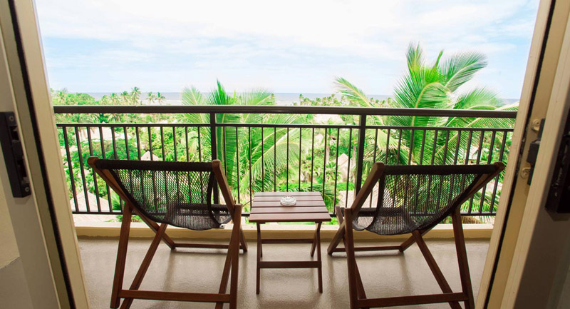 Outrigger fiji beach resort ocean view room balcony for View from balcony quotes
