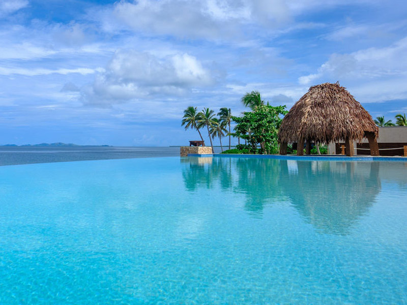 fiji marriott resort momi bay - infinity pool
