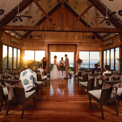 fiji wedding package outrigger resort