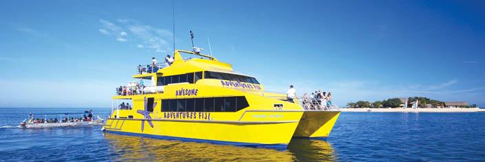 island transfer fiji boat