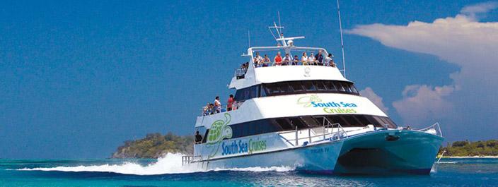 island transfer fiji catamaran