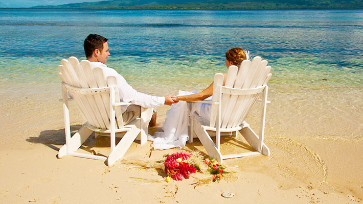 fiji wedding packages qamea resort