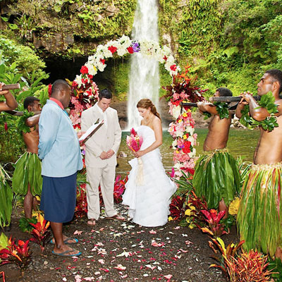 qamea wedding packages fiji spa